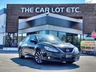 Used 2017 Nissan Altima 2.5 SV SUNROOF!! HEATED STEERING WHEEL!! HEATED SEATS!!  BLUETOOTH!! for sale in Sudbury, ON