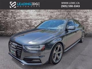 Used 2015 Audi S4 3.0T Technik Navigation, Bang & Olufsen Sound System for sale in King, ON
