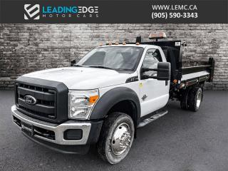 Used 2012 Ford F-550 Chassis XL Hydraulic Dump Box for sale in King, ON
