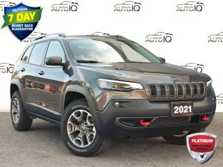 Used 2021 Jeep Cherokee Trailhawk This just in!!! for sale in St. Thomas, ON