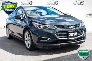 Used 2018 Chevrolet Cruze Premier Auto PREMIER | LEATHER SEATS for sale in Innisfil, ON