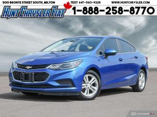 Used 2017 Chevrolet Cruze LT   AUTO   SUN   BT   HTD SEATS   ALLOYS & MORE!! for sale in Milton, ON