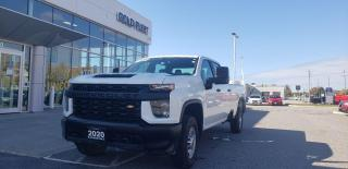 Used 2020 Chevrolet Silverado 2500 HD Work Truck for sale in North Bay, ON