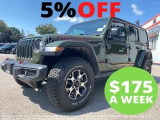New 2021 Jeep Wrangler Unlimited Rubicon for sale in Mitchell, ON