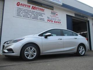 Used 2017 Chevrolet Cruze LT AUTO for sale in Swift Current, SK