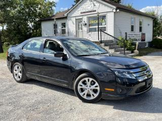 Used 2012 Ford Fusion No-Accidents LOW KMS SE Bluetooth A/C Power for sale in Sutton, ON
