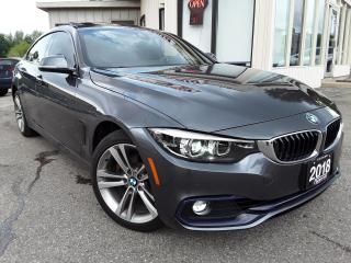 Used 2018 BMW 4 Series Gran Coupe 430i xDrive - NAV! BACK-UP CAM! BSM! DRIVERS ASSIST! for sale in Kitchener, ON