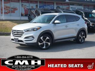 Used 2018 Hyundai Tucson Sport  CAM BLIND-SPOT LEATH HTD-SEATS 19-AL for sale in St. Catharines, ON