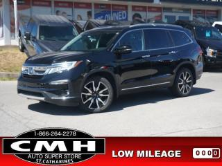 Used 2019 Honda Pilot Touring 7-Passenger AWD  NAV ROOF HTD-S/W 7-PASS 20-AL for sale in St. Catharines, ON