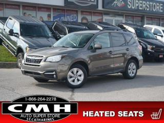 Used 2017 Subaru Forester 2.5i Convenience  CAM P/SEAT HTD-SEATS for sale in St. Catharines, ON