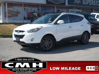 Used 2014 Hyundai Tucson GLS  CAM ROOF LEATH HTD-SEATS 17-AL for sale in St. Catharines, ON