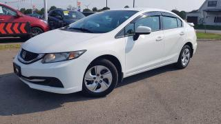 Used 2014 Honda Civic LX Sedan 5-Speed MT Manual shift! 1 Owner No Accidents! for sale in Dunnville, ON