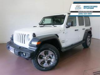 Used 2020 Jeep Wrangler Unlimited 4x4  1 OWNER   BLUETOOTH   HTD SEATS for sale in Brantford, ON