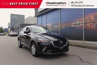 Used 2017 Mazda CX-3 GS - Locally Driven, W/ Sunroof! for sale in Vancouver, BC