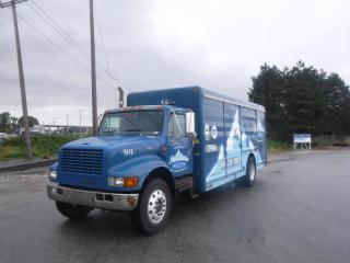 Used 2001 International 4700 20 Foot Beverage Truck With Air Brakes Diesel for sale in Burnaby, BC
