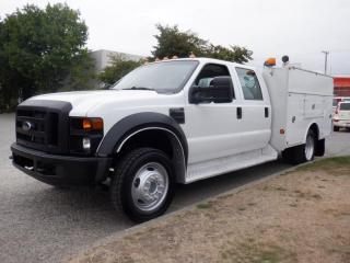 Used 2008 Ford F-450 SD Service Truck Crew Cab 2WD Dually for sale in Burnaby, BC