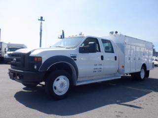 Used 2008 Ford F-550 Crew Cab 2WD  Service Truck for sale in Burnaby, BC