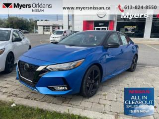 New 2021 Nissan Sentra SR CVT  -  Sunroof -  Heated Seats - $183 B/W for sale in Orleans, ON