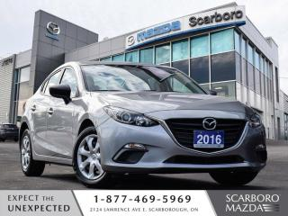 Used 2016 Mazda MAZDA3 NEW BRAKES AUTO SEDAN REAR CAMERA BLUETOOTH for sale in Scarborough, ON