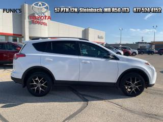 Used 2018 Toyota RAV4 AWD SE  - Navigation -  Sunroof for sale in Steinbach, MB