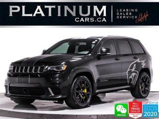 Used 2018 Jeep Grand Cherokee Trackhawk, 707HP, AWD, SUPERCHARGED, KEYLESS, NAV for sale in Toronto, ON