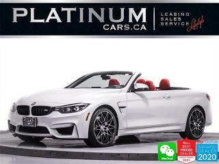 Used 2018 BMW M4 Convertible, 444HP, COMPETITION PKG, PDC, HUD for sale in Toronto, ON