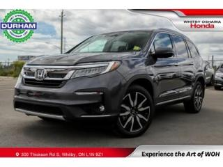Used 2021 Honda Pilot Touring AWD 8 Passenger for sale in Whitby, ON