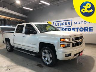 Used 2015 Chevrolet Silverado 1500 LTZ Crew Cab 5.3L V8 4X4 * Navigation * Remote Start * Heated Leather Seats * Chrome Side Steps * 20 Chrome Alloy Rims * Rear Bumper Steps * Power Sl for sale in Cambridge, ON