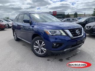 Used 2018 Nissan Pathfinder SL Premium *CPO* 360 CAMERA, NAVIGATION, SUNROOF for sale in Midland, ON