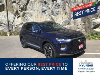 Used 2019 Hyundai Santa Fe Ultimate 2.0 Ultra Low Kms! for sale in Sudbury, ON