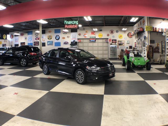 2019 Volkswagen Jetta HIGHLINE AUTO LEATHER H/SEATS CAMERA SUNROOF