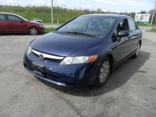 Used 2007 Honda Civic DX-G for sale in Kitchener, ON