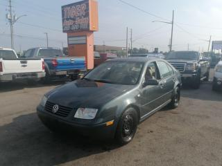Used 2003 Volkswagen Jetta 1.8T*LEATHER*SUNROOF*MANUAL*ONLY 173KMS*AS IS for sale in London, ON