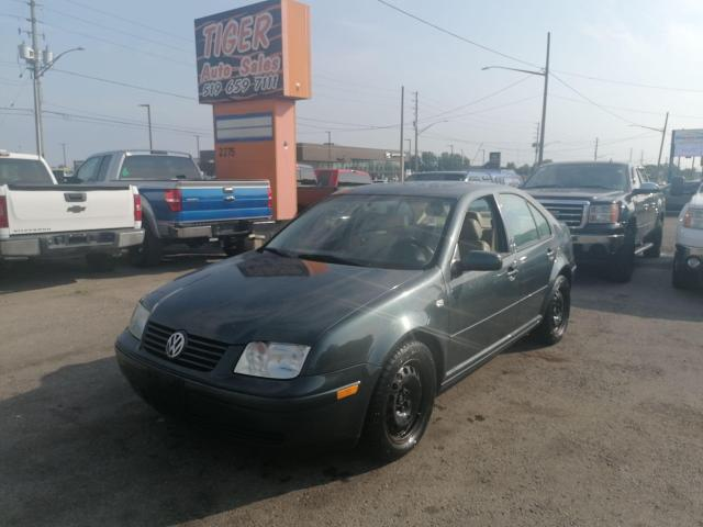 2003 Volkswagen Jetta 1.8T*LEATHER*SUNROOF*MANUAL*ONLY 173KMS*AS IS
