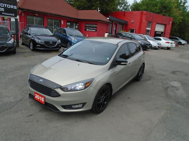 2016 Ford Focus SE/ ONE OWNER / NO ACCIDENT/ LOADED / REAR CAM /AC