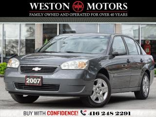 Used 2007 Chevrolet Malibu LT*CERTIFIED!!* for sale in Toronto, ON