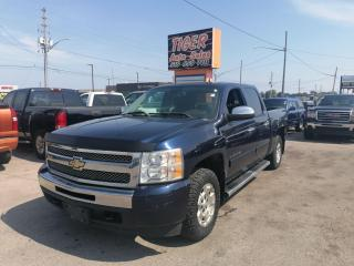Used 2011 Chevrolet Silverado 1500 LT*CREW CAB*4X4*5.3L V8*RUNNING BOARD*AS IS for sale in London, ON