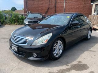 Used 2010 Infiniti G37 X Sport for sale in Scarborough, ON