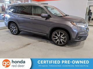 Used 2019 Honda Pilot Touring 7-Passenger for sale in Red Deer, AB