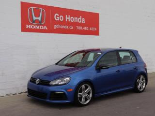 Used 2012 Volkswagen Golf R AWD, DSG, LEATHER, LOADED, NO ACCIDENTS, ONE OWNER for sale in Edmonton, AB