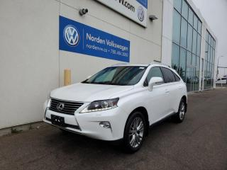 Used 2014 Lexus RX 350 PREMIUM AWD   HTD SEATS   NAVI   BACKUP CAM   LOADED for sale in Edmonton, AB