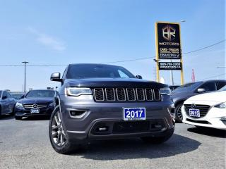 Used 2017 Jeep Grand Cherokee No Accidents|4WD|Limited|75thAnniversary|Certified for sale in Brampton, ON
