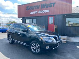 Used 2014 Nissan Pathfinder SL AWD|Htd Lthr Seats|Backup|Alloys|PwrLiftGate for sale in London, ON