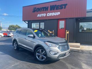 Used 2015 Hyundai Santa Fe XL LTD AWD|Navi|PanoRoof|BindSpot|Backup|Htd Lthr Sea for sale in London, ON