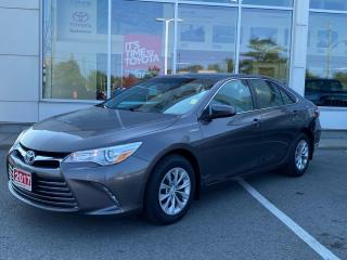 Used 2017 Toyota Camry HYBRID LE ONE OWNER! for sale in Cobourg, ON