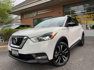 Used 2019 Nissan Kicks SR R.Starter 360 View Cam Heated Seats Certified* for sale in Concord, ON