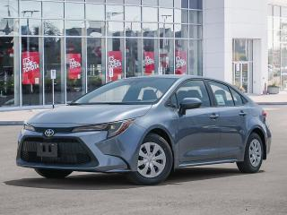 New 2022 Toyota Corolla L CVT for sale in Pickering, ON