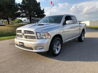 Used 2011 RAM 1500 SPORT - CREW CAB for sale in Cambridge, ON