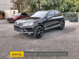 Used 2017 Volkswagen Touareg 3.6L Wolfsburg Edition LEATHER  PANO ROOF  DRIVER' for sale in Ottawa, ON