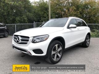 Used 2018 Mercedes-Benz GLC 300 PANO ROOF  NAVI  BLIS  HTD SEATS  BACKUP CAM for sale in Ottawa, ON